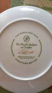 Woodland year signature edition collector plates