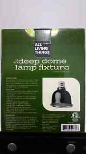 Deep dome lamp for reptiles (Brand new in box)