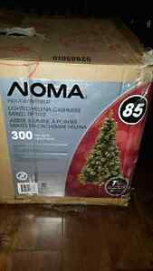 NOMA 7 Ft Lighted Helena Cashmere mixed tip Christmas Tree