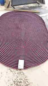 "Braided rug brand new. 5'2""×8'3"" Peterborough Peterborough Area image 1"