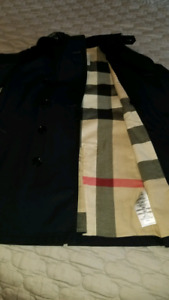 3 AUTHENTIC BURBERRY KIDS FALL TRENCH COATS WORN TWICE!!!
