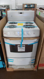 Brand new 24 inch apartment size stove. $599. In Stock!