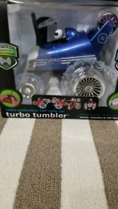 Turbo Tumbler 49MHz Remote Control Spinning 360° Rally Car