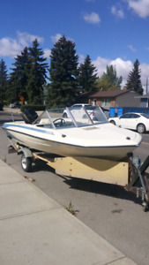 1976 glastron boat with 50 hp merc