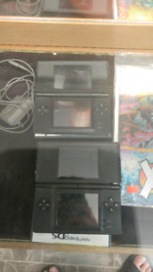 Nintendo ds with game