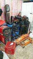 Welding equipment package deal