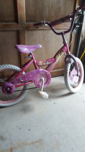 "16"" Girls Disney Bike"