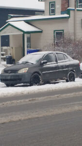 Toyota Echo  good winther cars Québec plated