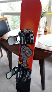 5150 Snow Board and Bindings 138