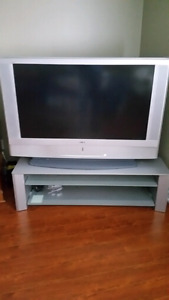 TV with stand for sale