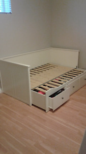 White daybed frame only