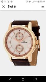 Thomas Earnshaw Rose Gold Watch *NEW*
