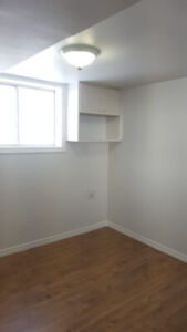 One Bedroom in Shared Basement for rent