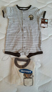 3 Brand New 6-Month Size Onesies - $15 for all 3
