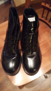 Military Steel Toe Boots. Size 10 1/2