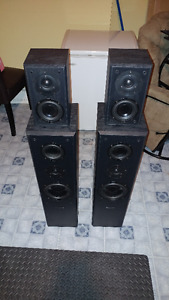 Fluance AVHTB 5.0 Surround System