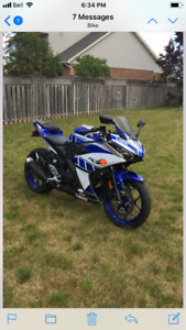 2015 YAMAHA R3 with only 4700km (includes many extras)