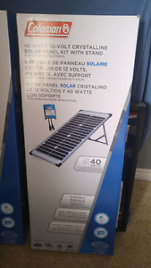 40 Watt, 12 Volt Solar Panels