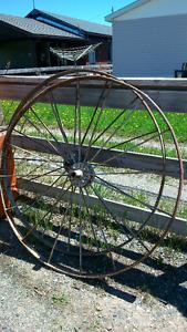 """Steel Wagon Wheels 48"""""""