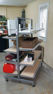 Innovative, High Capacity, Mobile Storage Racks for Your Home