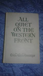 1930 Early Edition All Quiet On The Western Front.