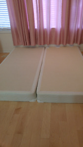 King Size - Two Spring Boxes