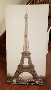 Canvas Art Eiffel Tower
