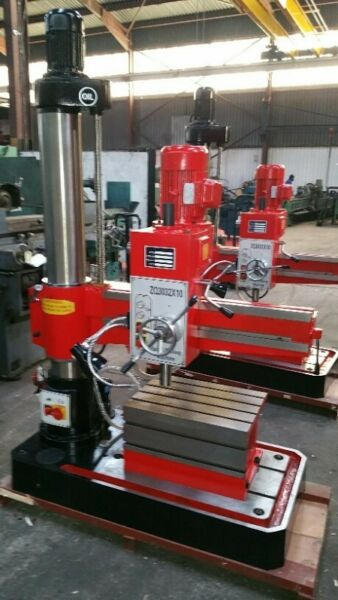 RADIAL ARM DRILLING MACHINES FOR SALE NEW AND USED