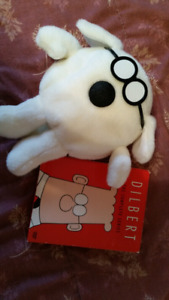 Dilbert DVDs The Complete Series + Dogbert Gund Plush