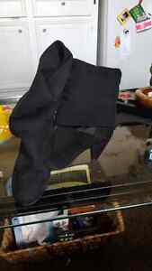 Black swade  boots with small heel and slouchy tops Sarnia Sarnia Area image 1