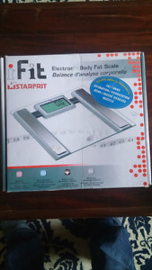 Balance d'Analyse Corporelle / Electronic Body Fat Scale.