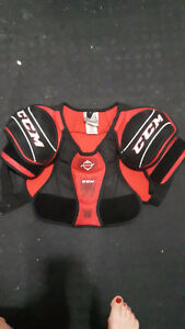 Shoulder pads Jr. Size large