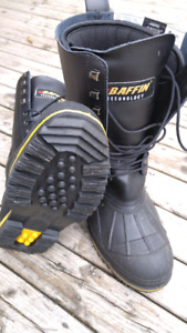 Baffin NWT Mens Extreme Cold Work Boots - Size 11