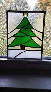 Stained glass tree 8x7