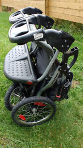 Double running stroller. Baby trend brand *REDUCED*