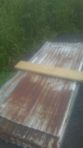USED ROOFING STEEL, RUSTY ROOFING TIN SHEETS