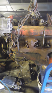 283 v8 1967 with tranny and rear end