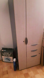 Cabinet with locks