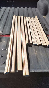 Solid Oak Picture Framing Edges