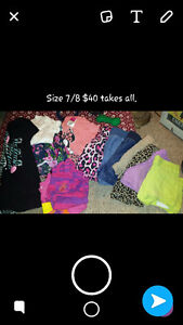 Kids clothing , different sizes (size & price on pictures)