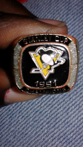Stanley Cup Ring penguins