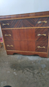 Dressers and table