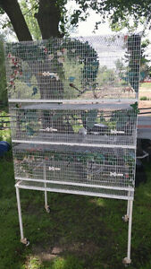 Finch/Canary Breeder & Parrot Cages for sale