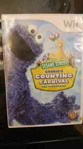 Wii Sesame Street Counting Carnival Age 3+