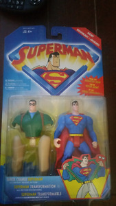 Superman/Clark Kent action figure