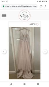 New, never worn Wedding Dress for Sale