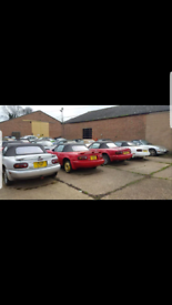●WANTED ALL MAZDA MX5's MK1 MK2 MK3 EUNOS MX-5 ROADSTER SAME DAY ASAP