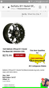 Off road truck rims for sale