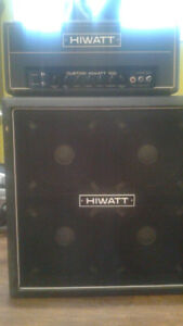 Hiwatt 100 watt head + cab