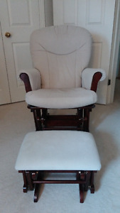 Shermag Nursing Chair and Ottoman